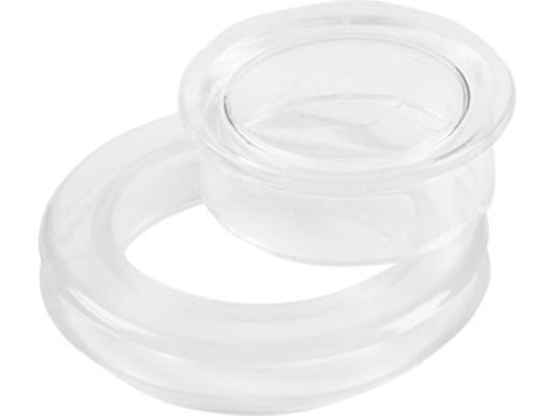 4x Standard Size 2 Inch Table Umbrella Hole Rings and Caps Kit Umbrella Plug USA