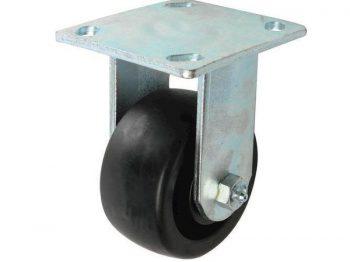 4-Inch Polypropylene Rigid Caster, 400-lb Load Capacity