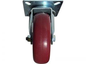 3-Inch Polyurethane Swivel Caster, 180-lb Load Capacity