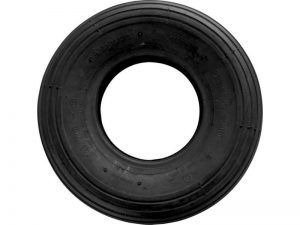 4.80/4.00x8-Inch Wheelbarrow Replacement Tire, 16-Inch, Ribbed Tread