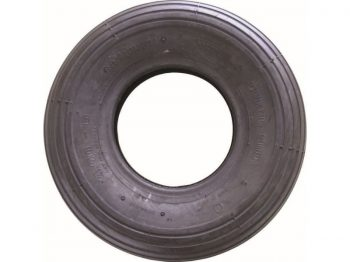 4.00x6-Inch Wheelbarrow Replacement Tire, 13-Inch, Ribbed Tread