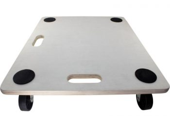 Move-It 23-Inch x 19-Inch Rectangle Wood Platform Dolly