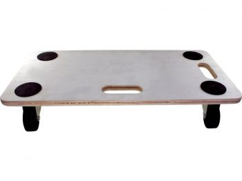 Move-It 23-Inch x 12-Inch Rectangle Wood Platform Dolly