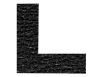 """1-1/2-Inch x 1-1/2-Inch Surface Grip Adhesive Non Slip """"L"""" Pads, 8-Count"""