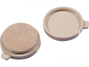 1-1/2-Inch Snap-On/Snap-Off Replacement Pads, 4-Count