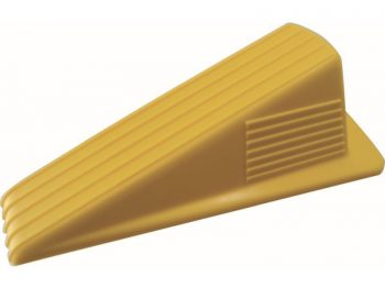 Heavy Duty Jumbo Rubber Door Wedge, Yellow