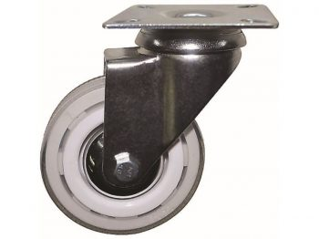 3-Inch Commerical Grade Color Designer Casters, Snow