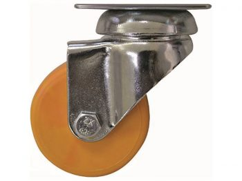 2-Inch Color Designer Casters, Honey 2-Pack