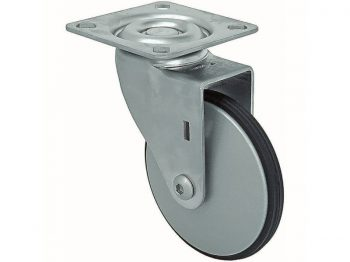 2-Inch Saucer Designer Casters, Aluminum Petite