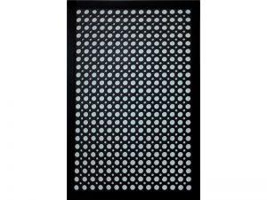 Indoor/Outdoor Recycled Rubber Floor Mat - 24 x 36-Inches, Black