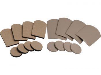 Reusable, Slide Glide Easy Movers Pack Furniture Sliders, 16-Piece Set