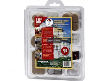 180 Piece Felt Pad And Strip Surface Protection Kit