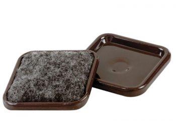 1-7/8-Inch Carpet Base Furniture Cups, 4-Pack