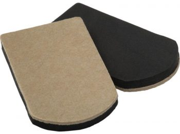 4-Inch x 7-Inch Reusable, Heavy Duty FeltGard Slider Pads, 4-Pack