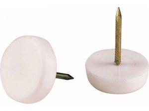 5/8-Inch Furniture Tack Glides, 4-Pack