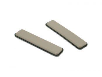 1-Inch x 4-Inch Adhesvie Slide Glide Furniture Slider Strips, Beige, 4-Pack