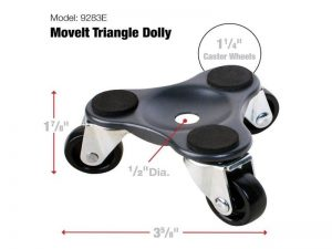 Move-It 4-Inch Steel Tri-Dolly