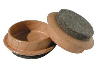 1-3/4-Inch FeltGard Furniture Cups, 4-Pack