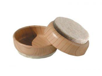 2-3/8-Inch FeltGard Furniture Cups, 4-Pack