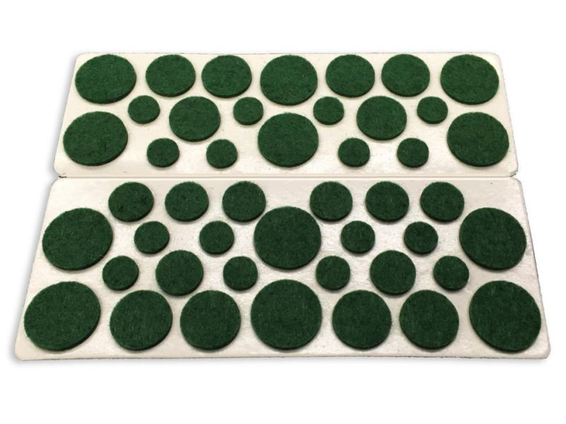 Self Adhesive Felt Surface Protection Pads Assorted Sizes