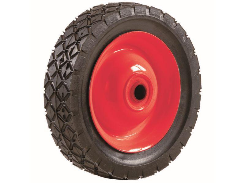 7 Inch Semi Pneumatic Rubber Tire Steel Hub With Grafoil