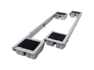 Adjustable Aluminum Appliance Rollers, 2-Pack
