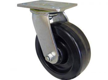 6-Inch Phenolic Swivel Plate Caster, 840-lb Load Capacity