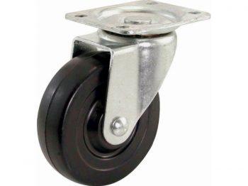 4-Inch Polypropylene Wheel Swivel Plate Caster, 275-lb Load Capacity
