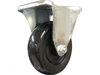 4-Inch Rigid Plate Polypropylene Caster, 275-lb Load Capacity