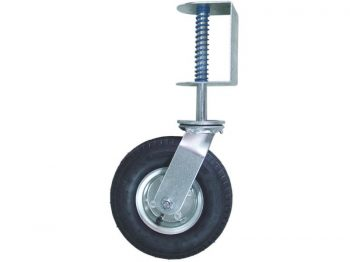8-Inch Pneumatic Gate Caster, 200-lb Load Capacity