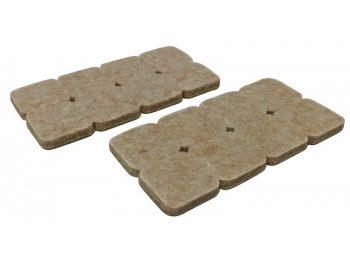 1-Inch Heavy Duty Self-Adhesive Felt Furniture Pads, 16-Count, Beige