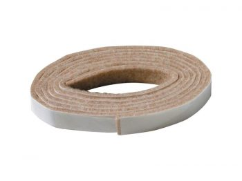 1/2 x 58-Inch Beige Self-Adhesive Felt Furniture Pad Roll