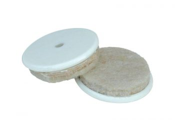 1-Inch Heavy Duty Self-Adhesive Felt Furniture Pads with Nylon Insert, 8-Pack