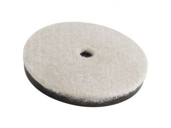 2-1/2-Inch Heavy Duty Felt Pad Furniture Cups, 4-Pack