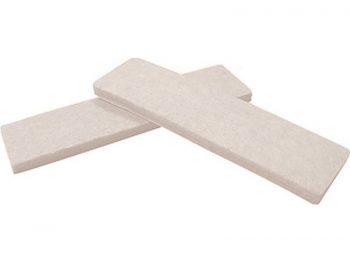 "1-Inch x 3-3/4"" Heavy Duty Self-Adhesive Felt Furniture Pads, 4-Pack"