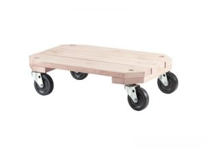 Solid Wood Plant Dolly