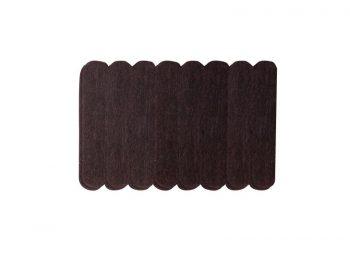 1/2-Inch x 2-5/8-Inch Heavy Duty Self-Adhesive Felt Furniture Strips, 16-Pack, Brown