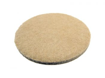 3-Inch Heavy Duty Self-Adhesive Felt Furniture Pads, 4-Pack, Beige