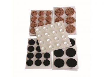 Surface Gard Home Protection Kit, Cork Pads, Non-Slip, Vinyl Bumpers, 88-Pieces