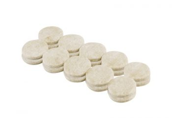 3/4-Inch Heavy Duty Self-Adhesive Felt Furniture Pads, 20-Pack, Beige