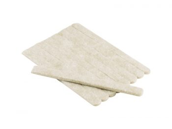 1/2-Inch x 6-Inch Heavy Duty Self-Adhesive Felt Furniture Strips, 9-Pack, Beige