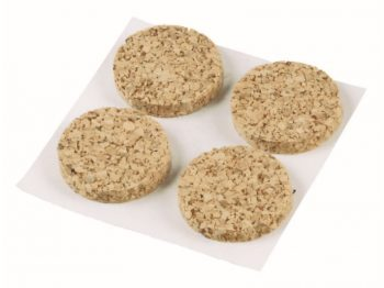 1/2-Inch SurfaceGard Adhesive Cork Pads, 24-Count