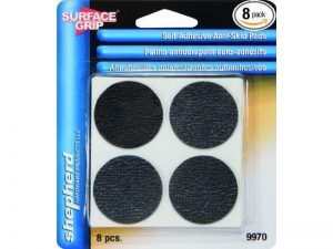 1-1/2-Inch Surface Grip Adhesive Non Slip Pads, 8-Pack