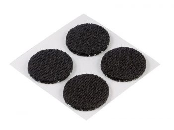 1/2-Inch Surface Grip Adhesive Foam Non Slip Pads, 24-Pack